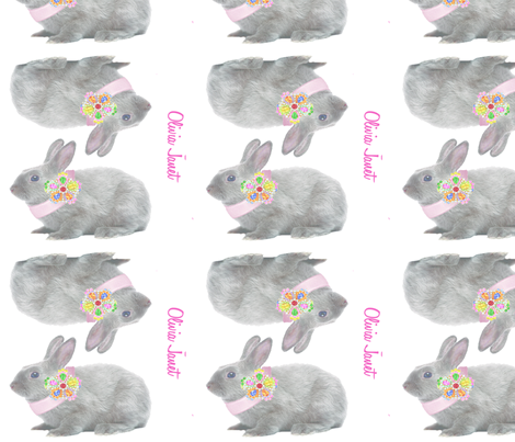bunny_toy fabric by jill_page on Spoonflower - custom fabric