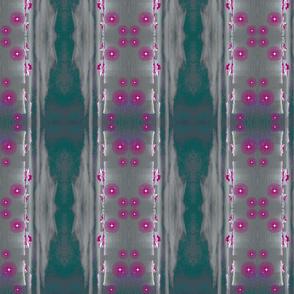 Mendenhall vertical teal/pink