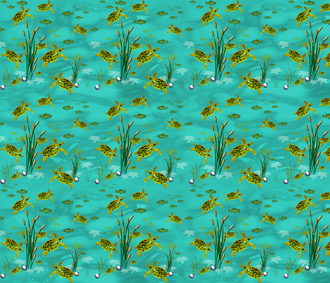 Under The Sea fabric by bags29 on Spoonflower - custom fabric