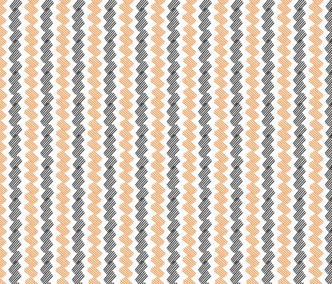 Fox Hatch Chevron fabric by modernfox on Spoonflower - custom fabric