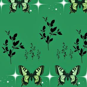 Jade butterflies
