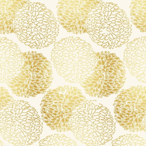 Small Scale Ming Chrysanthemum