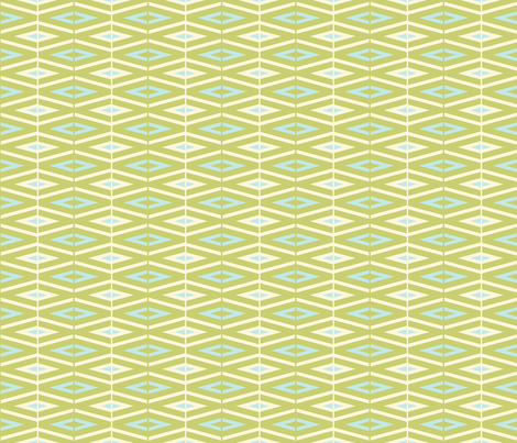 lime diamonds fabric by designed_by_debby on Spoonflower - custom fabric
