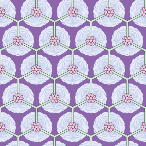 lotus field fabric by keweenawchris on Spoonflower - custom fabric