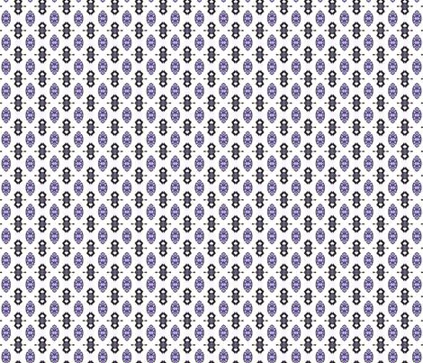 PurpleTribal_1 fabric by kelleecarr on Spoonflower - custom fabric