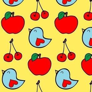 Apple Cherry Bird