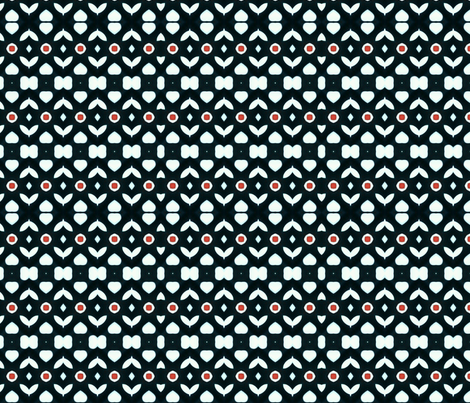 Touches in Black 01 fabric by charldia on Spoonflower - custom fabric