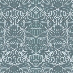 Webs, grey-white