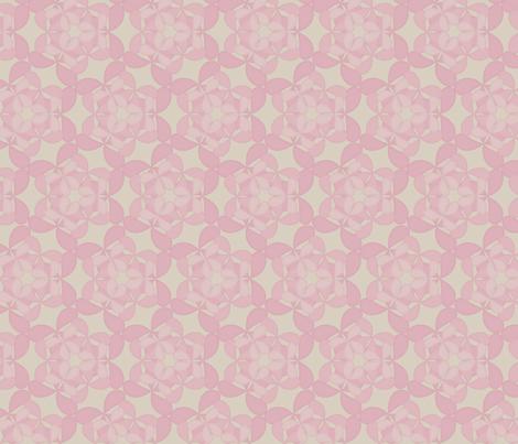 flutterpetals_rosemist fabric by glimmericks on Spoonflower - custom fabric