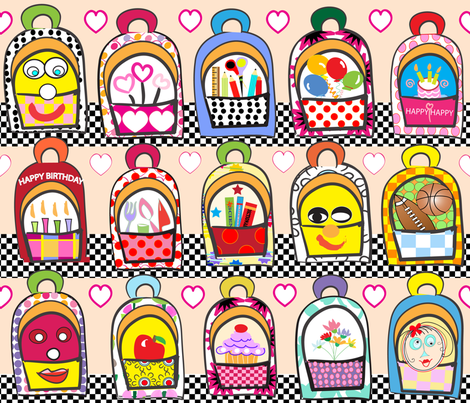 SOOBLOO_BACKPACKS_FOR_ALL-6-01 fabric by soobloo on Spoonflower - custom fabric