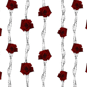 WIRED ROSES