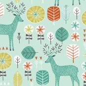 Retro Deer