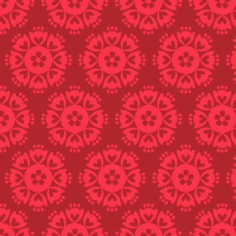 Far Away Fancy fabric by cerigwen on Spoonflower - custom fabric