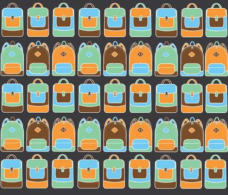 BACKPACK fabric by doitgal on Spoonflower - custom fabric