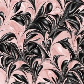 Flamingo-Black-Swirl