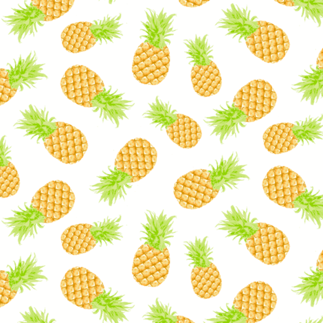 pinapples fabric by lpt-workshop on Spoonflower - custom fabric