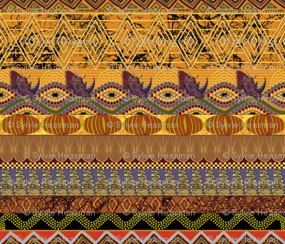 African Autumn using 501624