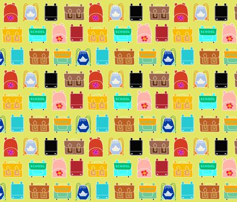 Backpacks fabric by domoshar on Spoonflower - custom fabric