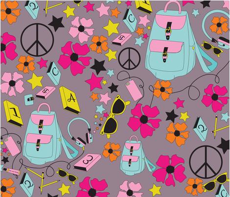 Teen Dreams fabric by t-bird on Spoonflower - custom fabric