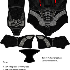 N7 Armor Swimsuit