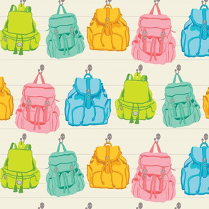 Backpacks in the Cottage