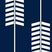 arrows // navy