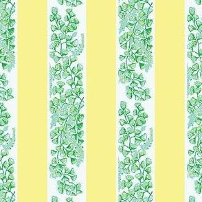Curtain Stripe Butter-Yellow