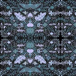 luna garden lavender gray