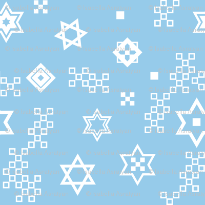 star of David - variation