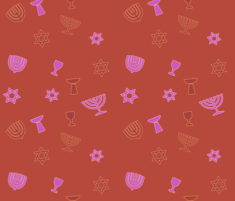 star of David and more fabric by isabella_asratyan on Spoonflower - custom fabric
