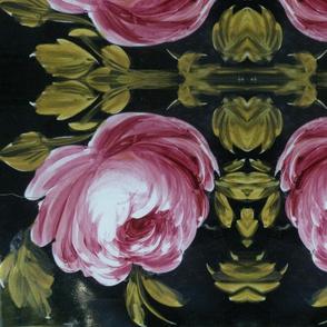 Spanish Tile Cabbage Rose