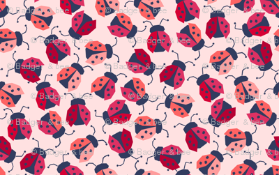 Faceted Ladybugs