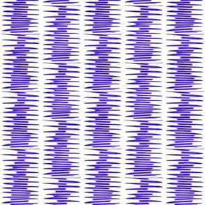 Blue Stacked Lines