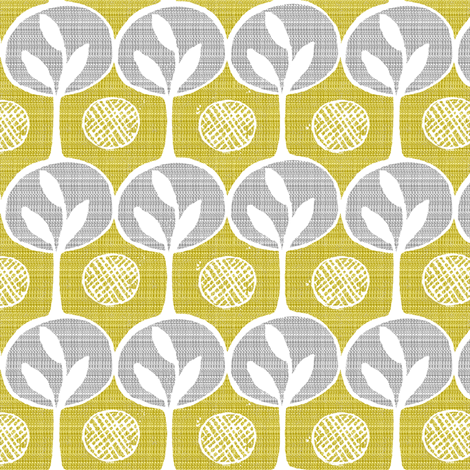 forest-small scale-trees fabric by ottomanbrim on Spoonflower - custom fabric