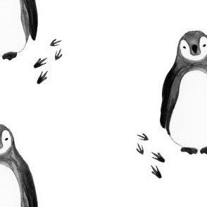small penguin prints