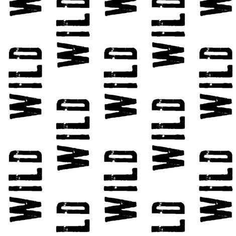 Wild // Railroad fabric by littlearrowdesign on Spoonflower - custom fabric