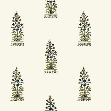 Indian Tree fabric by amyvail on Spoonflower - custom fabric