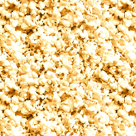buttered popcorn fabric by weavingmajor on Spoonflower - custom fabric