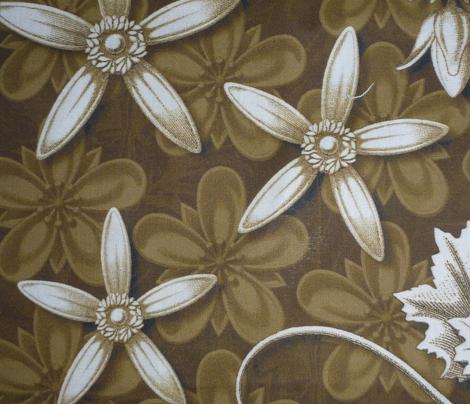 leaf quilt  blocks tan