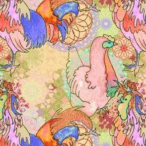 Chickens on spirals again