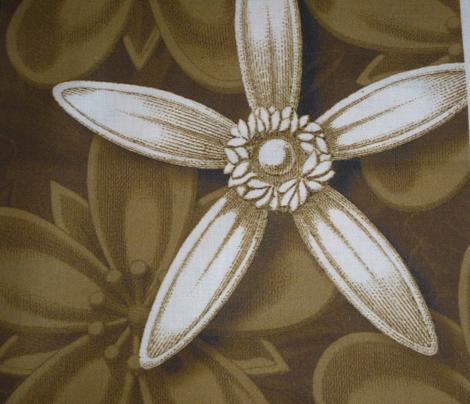 leaf tan pillow/tote