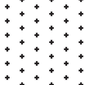 Small black swiss cross