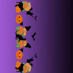 black_cat_halloween_border