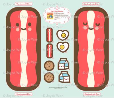 "Cut-&-Sew Plushie: BIG 28"" Bacon Plushie"