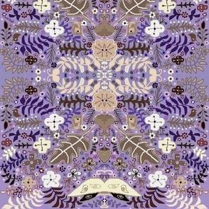 Candied violet luna garden