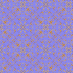 Blue Quilted Golden