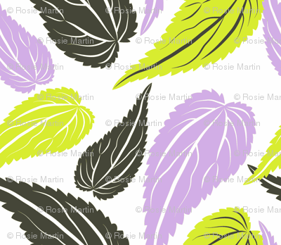 Nettles - lime and lavender 02
