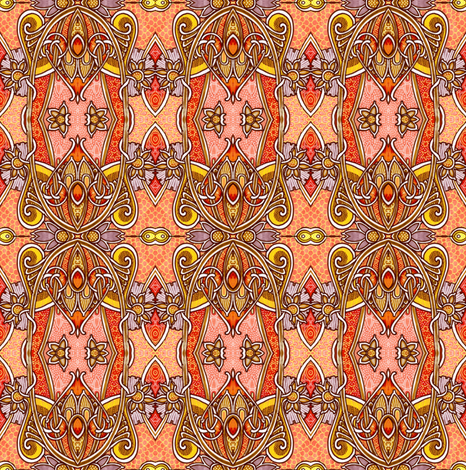 Second Decade of the 20th Century fabric by edsel2084 on Spoonflower - custom fabric