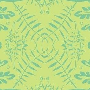 pales green blue fern birds