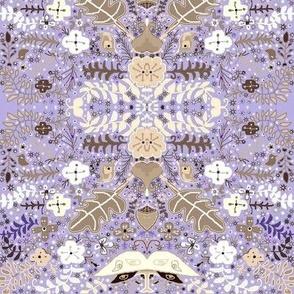 Pale Violet luna garden